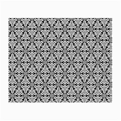 Ornamental Checkerboard Small Glasses Cloth (2 Side)