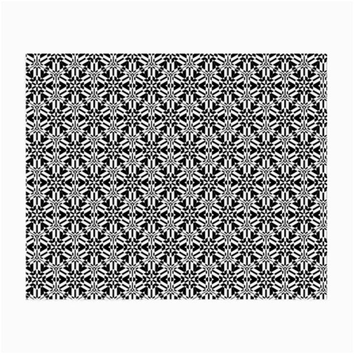 Ornamental Checkerboard Small Glasses Cloth (2-Side)