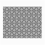 Ornamental Checkerboard Small Glasses Cloth (2-Side) Back