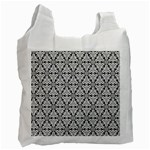Ornamental Checkerboard Recycle Bag (One Side) Front