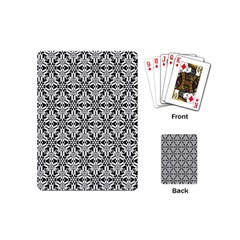 Ornamental Checkerboard Playing Cards (mini) by Mariart