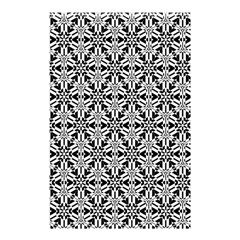 Ornamental Checkerboard Shower Curtain 48  X 72  (small)  by Mariart