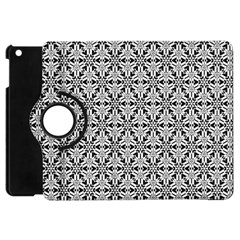 Ornamental Checkerboard Apple Ipad Mini Flip 360 Case