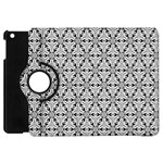 Ornamental Checkerboard Apple iPad Mini Flip 360 Case Front