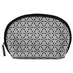 Ornamental Checkerboard Accessory Pouch (Large) Front