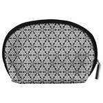Ornamental Checkerboard Accessory Pouch (Large) Back