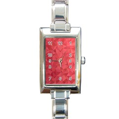 Triangle Background Abstract Rectangle Italian Charm Watch