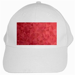 Triangle Background Abstract White Cap