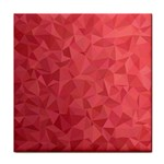 Triangle Background Abstract Tile Coasters Front