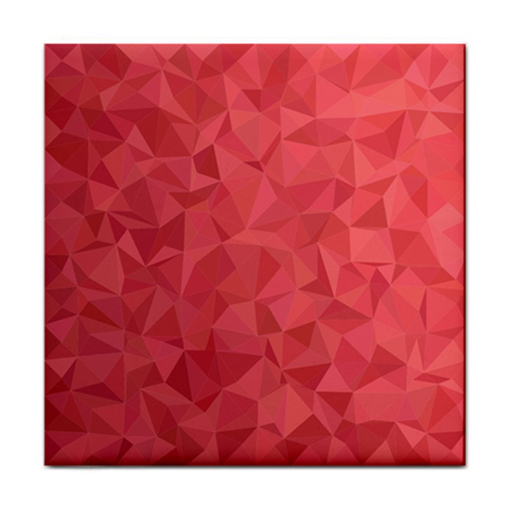 Triangle Background Abstract Tile Coasters