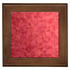 Triangle Background Abstract Framed Tiles