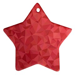 Triangle Background Abstract Ornament (star)