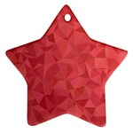 Triangle Background Abstract Ornament (Star) Front