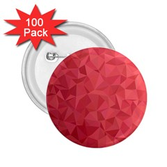 Triangle Background Abstract 2.25  Buttons (100 pack)