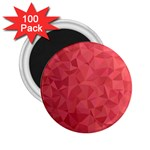 Triangle Background Abstract 2.25  Magnets (100 pack)  Front