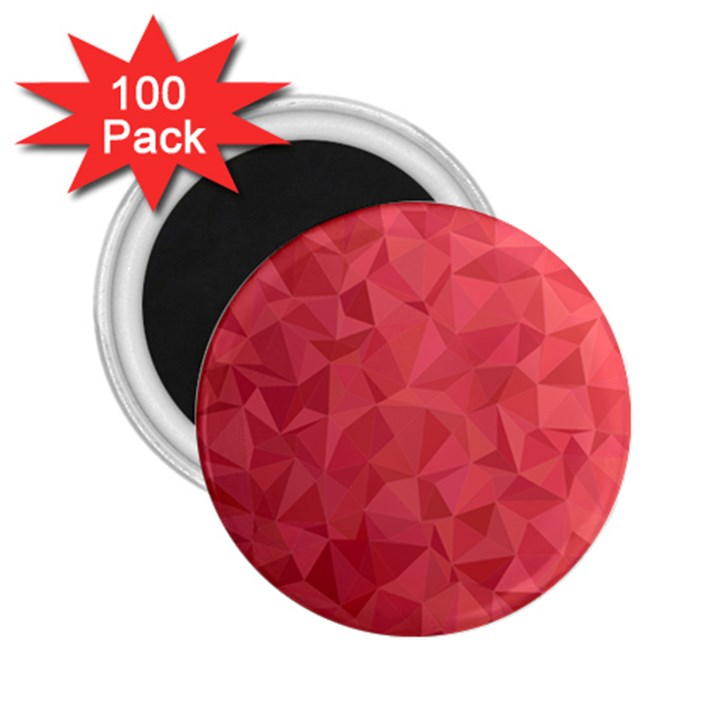 Triangle Background Abstract 2.25  Magnets (100 pack)