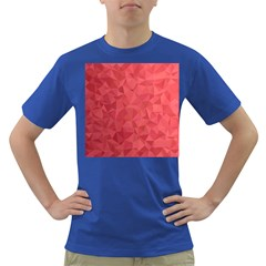 Triangle Background Abstract Dark T-Shirt