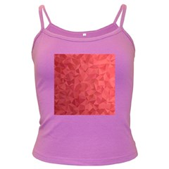 Triangle Background Abstract Dark Spaghetti Tank
