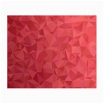 Triangle Background Abstract Small Glasses Cloth Front