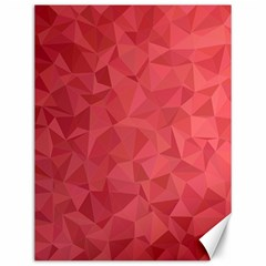 Triangle Background Abstract Canvas 12  x 16