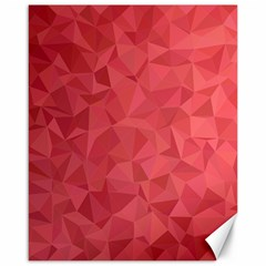 Triangle Background Abstract Canvas 16  x 20