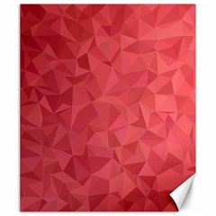 Triangle Background Abstract Canvas 20  x 24