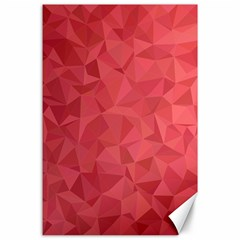 Triangle Background Abstract Canvas 24  x 36