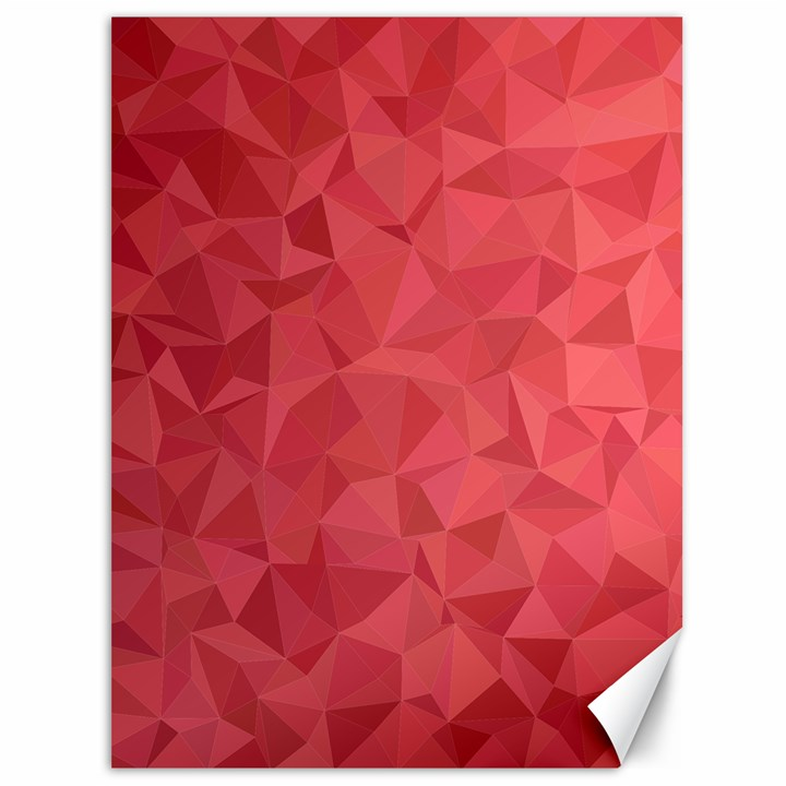 Triangle Background Abstract Canvas 36  x 48