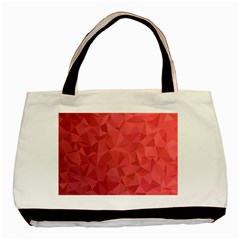 Triangle Background Abstract Basic Tote Bag (Two Sides)