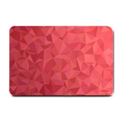Triangle Background Abstract Small Doormat