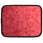 Triangle Background Abstract Netbook Case (Large) Front