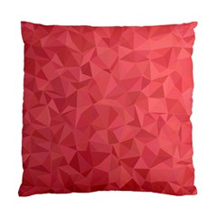 Triangle Background Abstract Standard Cushion Case (Two Sides)