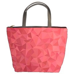 Triangle Background Abstract Bucket Bag