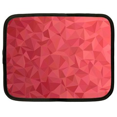 Triangle Background Abstract Netbook Case (XXL)