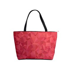Triangle Background Abstract Classic Shoulder Handbag