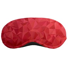 Triangle Background Abstract Sleeping Masks