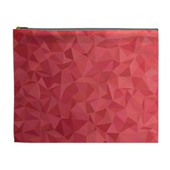 Triangle Background Abstract Cosmetic Bag (XL)