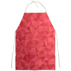 Triangle Background Abstract Full Print Aprons