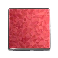 Triangle Background Abstract Memory Card Reader (Square 5 Slot)