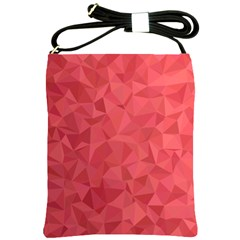 Triangle Background Abstract Shoulder Sling Bag
