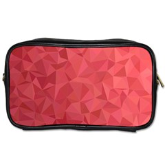 Triangle Background Abstract Toiletries Bag (One Side)