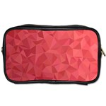 Triangle Background Abstract Toiletries Bag (Two Sides) Front
