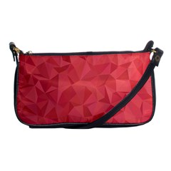 Triangle Background Abstract Shoulder Clutch Bag