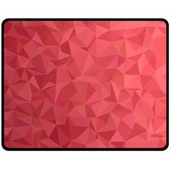 Triangle Background Abstract Fleece Blanket (Medium)
