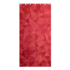 Triangle Background Abstract Shower Curtain 36  x 72  (Stall)