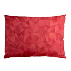 Triangle Background Abstract Pillow Case (Two Sides)