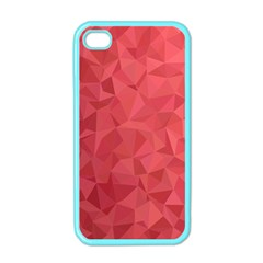 Triangle Background Abstract Apple iPhone 4 Case (Color)