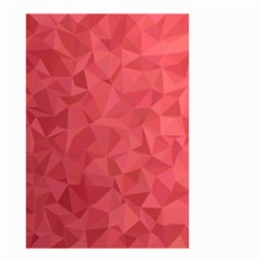 Triangle Background Abstract Small Garden Flag (Two Sides)