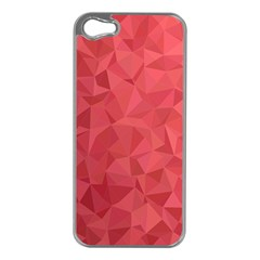 Triangle Background Abstract Apple Iphone 5 Case (silver)