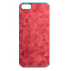 Triangle Background Abstract Apple Seamless iPhone 5 Case (Color)